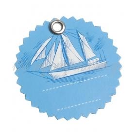 Χάρτινη ετικέτα καράβι - ΚΩΔ:81529-PR