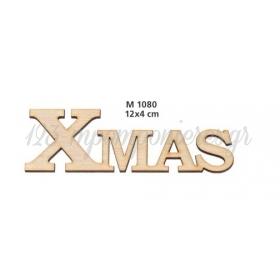 ΞΥΛΙΝΟ ΔΙΑΚΟΣΜΗΤΙΚΟ XMAS  - ΚΩΔ:M1080-AD