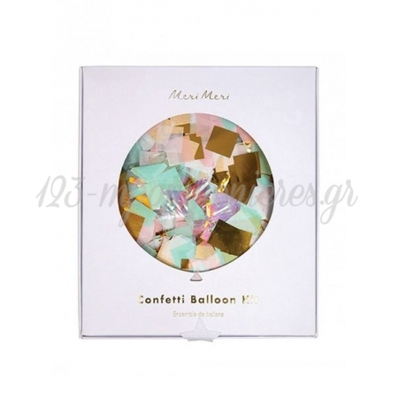 Balloon Kit Ιριδίζοντα Confetti - ΚΩΔ:164125-JP