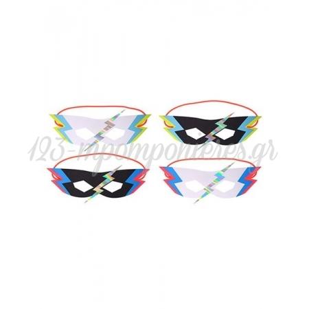Superhero Μάσκες 8τμχ - ΚΩΔ:146890-JP