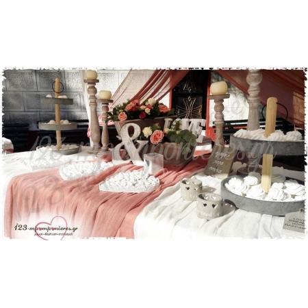 ΣΤΟΛΙΣΜΟΣ ΓΑΜΟΥ ΣΕ ΡΟΥΣΤΙΚ ΣΤΥΛ  - ΑΓ. ΛΟΥΚΑΣ ΣΤΑΥΡΟΥΠΟΛΕΩΣ - ΚΩΔ:LAV-946