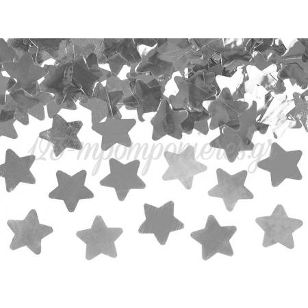 ΚΑΝΟΝΑΚΙ ΚΟΝΦΕΤΙ ΑΣΗΜΙ ΑΣΤΕΡΙΑ 60CM - ΚΩΔ:TUKST60-018-BB