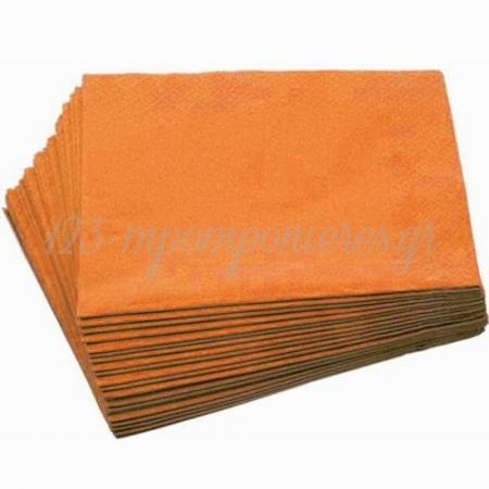 Χαρτοπετσετες Σε Χρωμα Πορτοκαλι - ΚΩΔ:34501503-Bb