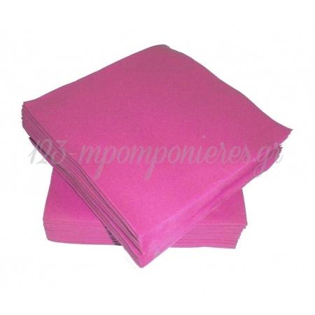 Χαρτοπετσετες Σε Χρωμα Φουξια - ΚΩΔ:60215-103-Bb