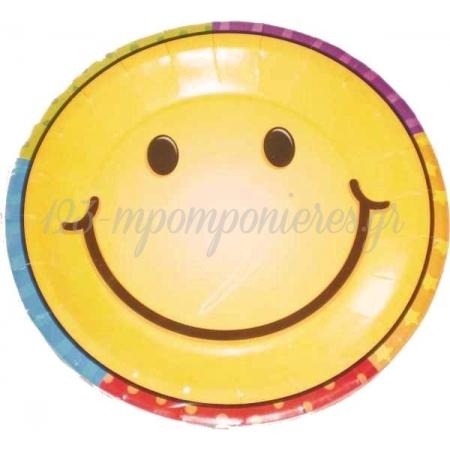 ΜΙΚΡΑ ΠΙΑΤΑΚΙΑ SMILE FACE - ΚΩΔ:3450402-BB