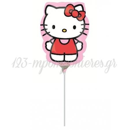 Μπαλονι Foil 23-35Cm Mini Shape Hello Kitty ΚΩΔ.:22959-Bb