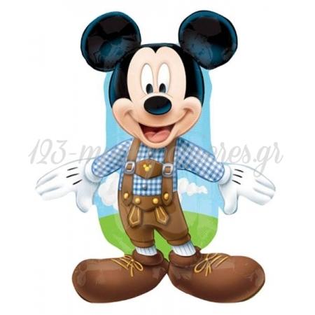 Μπαλονι Foil 98X85Cm Super Shape Mickey Mouse Αγροτης – ΚΩΔ.:27389-Bb
