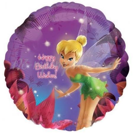 ΜΠΑΛΟΝΙ FOIL 45cm TINKERBELL «Happy Birthday Wishes» - ΚΩΔ.:515748-BB