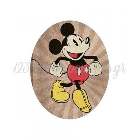 Ξυλινο Διακοσμητικο Mickey Mouse Vintage - ΚΩΔ:D16001-18-Bb