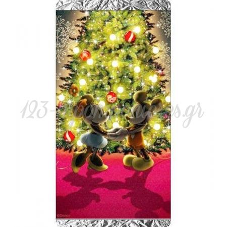 Χριστουγεννιατικη Σοκολατα Mickey & Minnie Δεντρο - ΚΩΔ:Xs1501-18-Bb