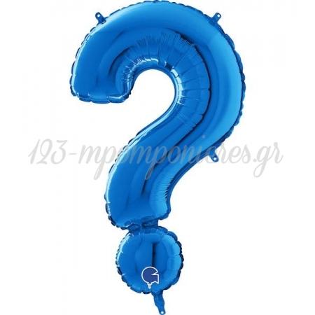 Μπαλονι Foil Μπλε 66Cm Συμβολο ? – ΚΩΔ.:26550B-Bb