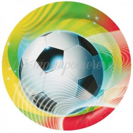 Πιατα Ποδοσφαιρο - ΚΩΔ:552562-Bb