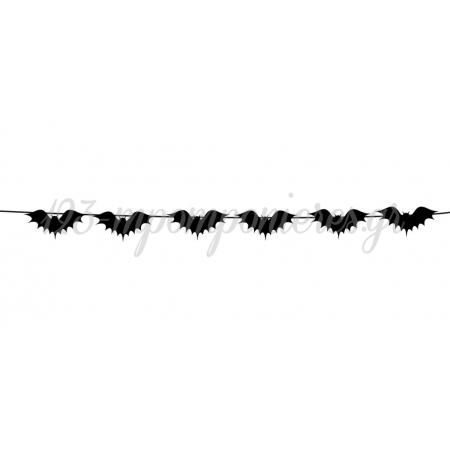 ΔΙΑΚΟΣΜΗΤΙΚΗ ΓΙΡΛΑΝΤΑ ΝΥΧΤΕΡΙΔΕΣ HALLOWEEN - ΚΩΔ:P25974-2-BB