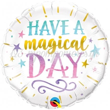ΜΠΑΛΟΝΙ FOIL SUPER SHAPE 45cm «Have a Magical Day» – ΚΩΔ.:57262-BB