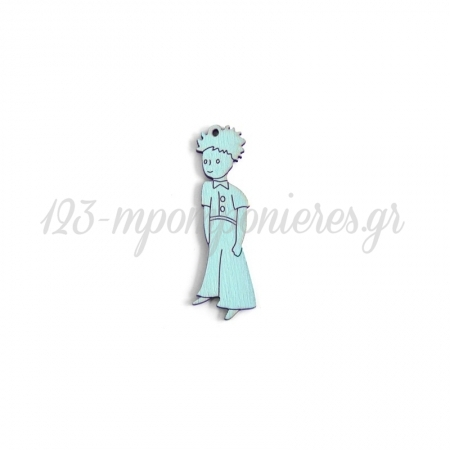 Ξύλινος Μικρός Πρίγκιπας 70x18mm - ΚΩΔ:76040577.013-NG