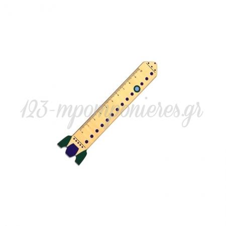 Ξύλινος Χάρακας Πύραυλος 20x129mm  ΚΩΔ:76460486.201-NG