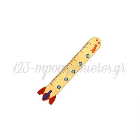 Ξύλινος Χάρακας Πύραυλος Αστέρια 20x134mm - ΚΩΔ:76460487.201-NG