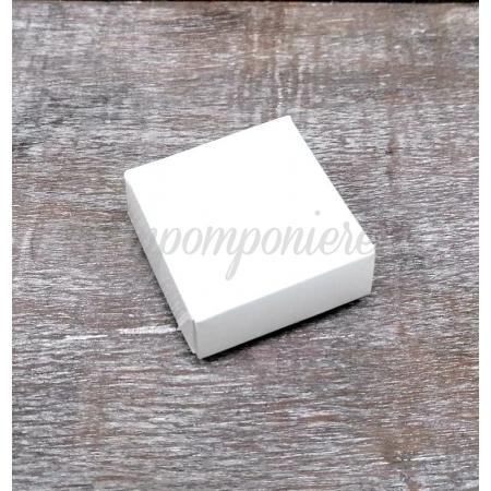 Χαρτινο Κουτακι - 6Χ6Χ2 Εκ - Λευκο - ΚΩΔ:Mp52-White-La