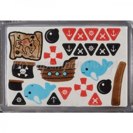 Πλακα Ζαχαροπαστας Πειρατης - ΚΩΔ:0003965-Sw