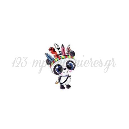 Ξυλινο Panda Boho 3.5X5Cm - ΚΩΔ:M3891-Ad