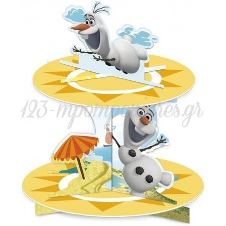Διωροφη Βαση Για Γλυλα Ολαφ Frozen - ΚΩΔ:85981-Bb