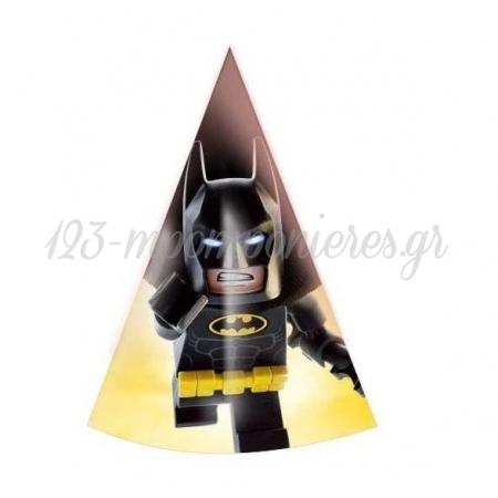 Καπελακι Παρτυ Lego Batman - ΚΩΔ:P259111-39-Bb