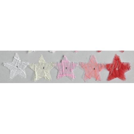 Μαντηλι Αστερι Απο Τουλι Αραχνη 8X8Cm - ΚΩΔ:M2770-Ad
