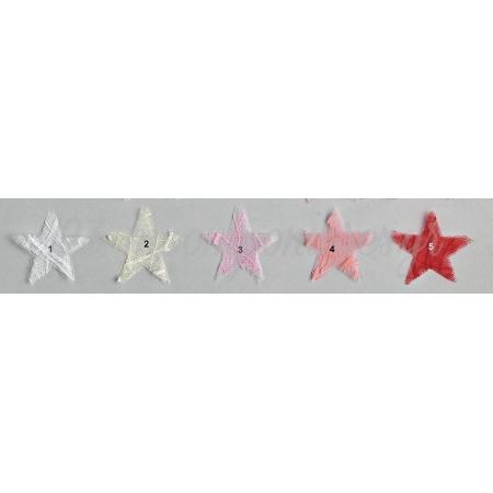 Μαντηλι Αστερι Απο Τουλι Αραχνη 5X5Cm - ΚΩΔ:M2771-Ad