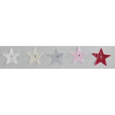 Μαντηλι Αστερι Απο Τουλι Πουα 5X5Cm - ΚΩΔ:M2791-Ad