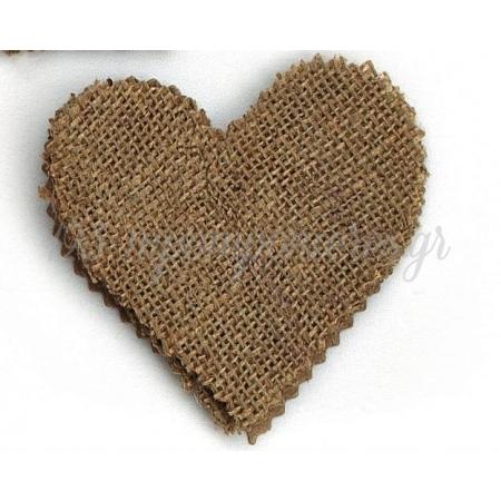 Μαντηλι Λινατσα Καρδια 10.5X10Cm - ΚΩΔ:M8062-Ad