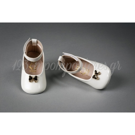 Παπουτσακια Για Κοριτσακια Αγκαλιας Νο 16-19 - Ζευγαρι - ΚΩΔ:1002A-Ever