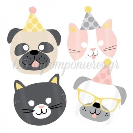 Μασκες Παρτυ Hello Pets - ΚΩΔ:9906551-Bb
