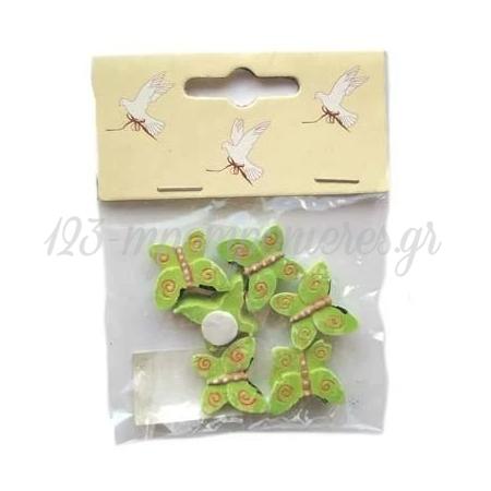 Διακοσμητικες Κεραμικες Πεταλουδες 2Cm - ΚΩΔ:16447-Bb