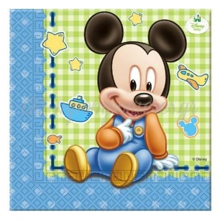 Χαρτοπετσετες 2Ply Baby Mickey Mouse - ΚΩΔ:84347-Bb