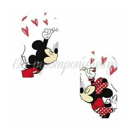 Ξυλινο Διακοσμητικο Mickey & Minnie Ζευγαρι 10Εκατ. - ΚΩΔ:D16001-118-Bb