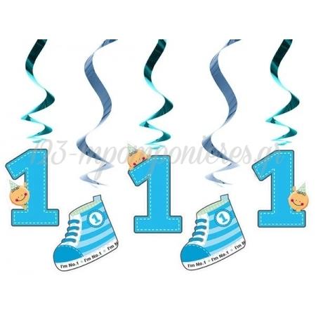 Γιρλαντα Οροφης I'M No 1 Μπλε 60Cm - ΚΩΔ:Swid10-B-Bb