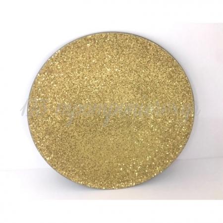 Χρυσος Glitter Δισκος Εκκλησιας 40Cm - ΚΩΔ:H65-Rn