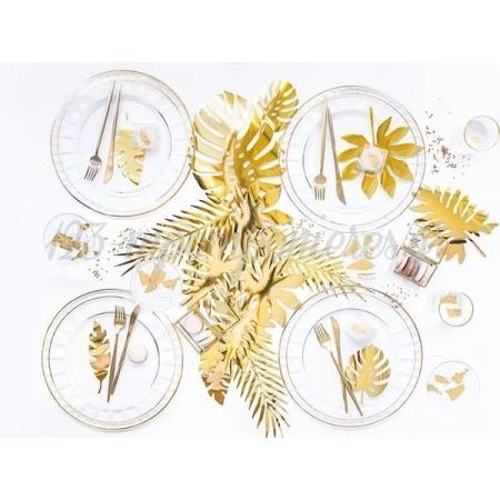Διακοσμητικα Χρυσα Τροπικα Φυλλα - ΚΩΔ:Zda1-019M-Bb