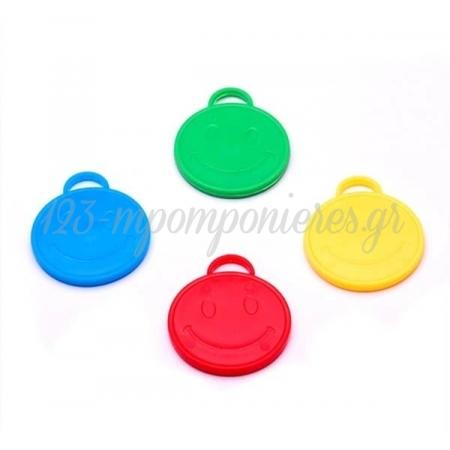 Βαριδιο Μπαλονιων Χαμογελστη Φατσα Σε Διαφορα Χρωματα - ΚΩΔ:535B613-Bb