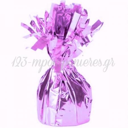 Ροζ Foil Βαριδιο Για Μπαλονια 170Gr - ΚΩΔ:535B6218-Bb