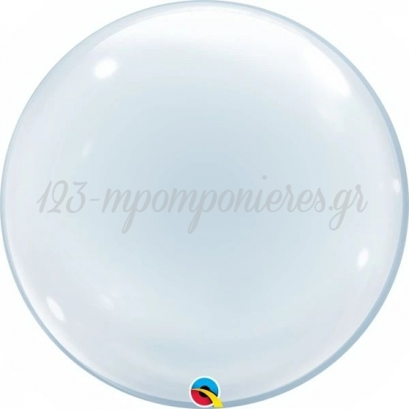 """ΜΠΑΛΟΝΙ BUBBLE 24""""(61cm) ΔΙΑΦΑΝΟ DECO - ΚΩΔ:68825-BB"""