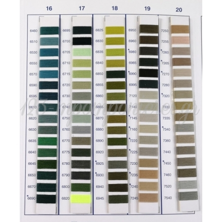 Λινατσα Α'Α' Ποιοτητας 54/10 Με Χρωματιστο Γαζι 25X25Cm ΚΩΔ:25X25-B-Asl