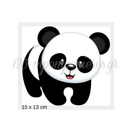 Ξυλινο Panda Με Laser Cut Κοπη Περιμετρικα 15Χ13Cm - ΚΩΔ:Mpoae17-15-Al