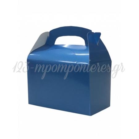 Κουτι Party Box Σε Τυρκουαζ Μεταλλικο Χρωμα - ΚΩΔ:20-19356-Jp