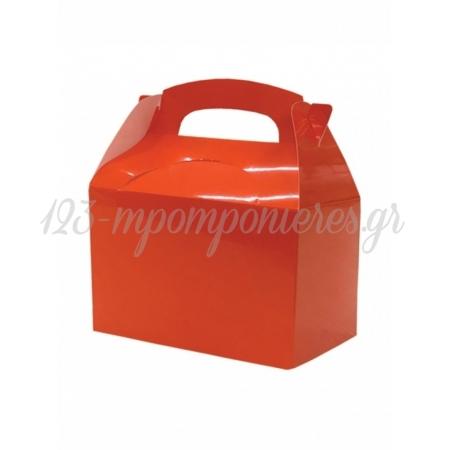 Κουτι Party Box Σε Πορτοκαλι Χρωμα - ΚΩΔ:20-19354-Jp