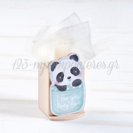 Ξυλινη Μολυβοθηκη Panda - ΚΩΔ:Ml955-Pr