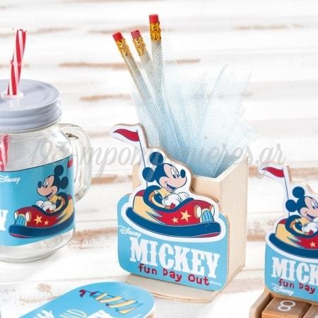 Ξυλινη Μολυβοθηκη Mickey Fun Day Out - ΚΩΔ:Na2123-Pr