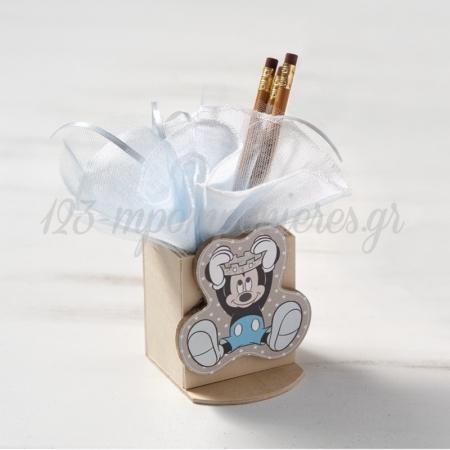 Ξυλινη Μολυβοθηκη Mickey Prince 2 - ΚΩΔ:Na257-Pr