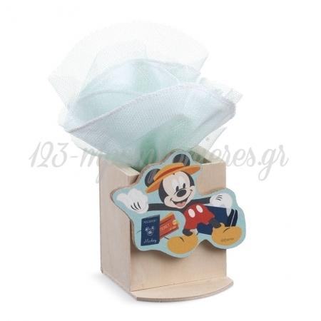 Ξυλινη Μολυβοθηκη Mickey Travel - ΚΩΔ:Na280-Pr