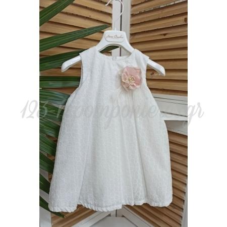 Φορεμα Με Καπελο Σε Σαπιο Μηλο Αποχρωσεις - Stova Bambini 12-18Μ - ΚΩΔ:Ss16G12-123